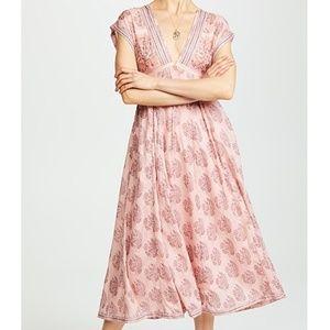 """Free People """"Riakaa"""" Midi Dress"""
